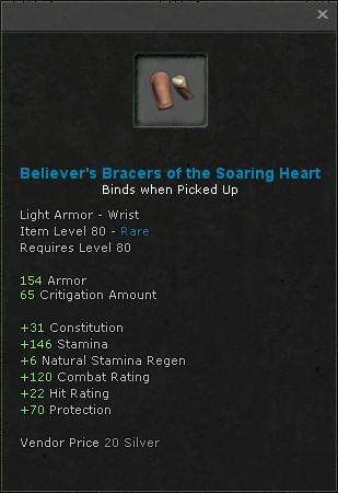 Children Of Yag Kosha Fengdu Dungeon Light Armor Wrist Barb